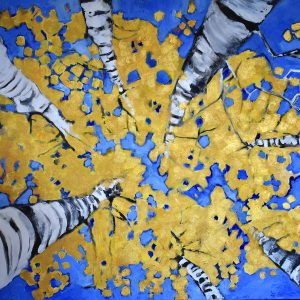 brent jones art, brent jones, denver art, acrylic art, contemporary art, local art, brent jones denver, aspen, aspen tree, aspen tree art